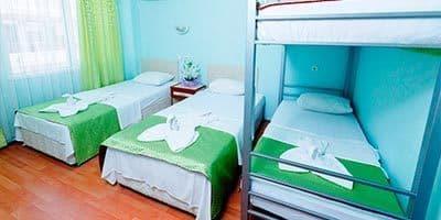 aile oteli yatakları kalitelidir
