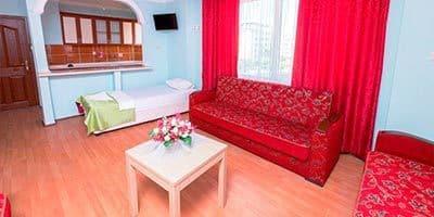 Otel dairesinde salon