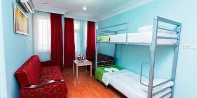 En ucuz İslami otel Nehir otelin yatakları