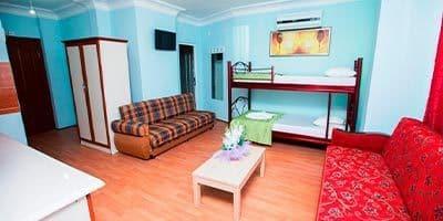 Aile otel odası